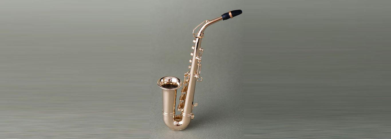 saxophone banner